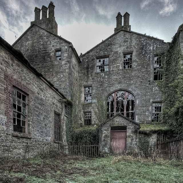 Manor Houses, Northern Ireland And Abandoned
