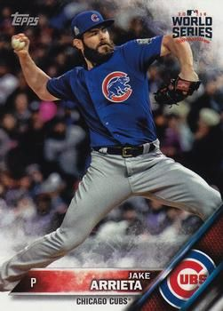 2016 Topps Chicago Cubs World Series Champions Box Set #WS-23 Jake Arrieta Front
