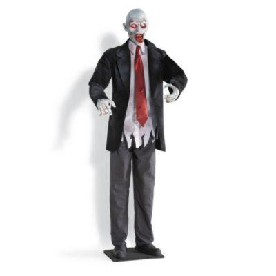 Animated Shaking Zombie Grandin Road Halloween Props Scary Halloween Figures Halloween Entertaining