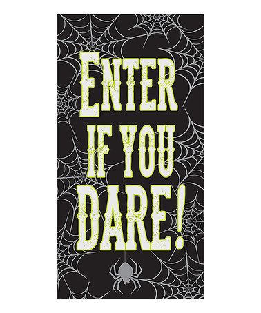 Another great find on #zulily! Door Poster - Set of 3 #zulilyfinds - halloween poster ideas