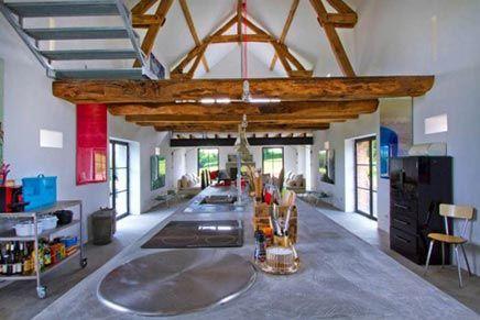 Woninginrichting Woonboerderij Verbouwing : Woninginrichting woonboerderij in bourgogne frankrijk interiors