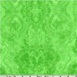 Flannel Tie Dye Lime Green