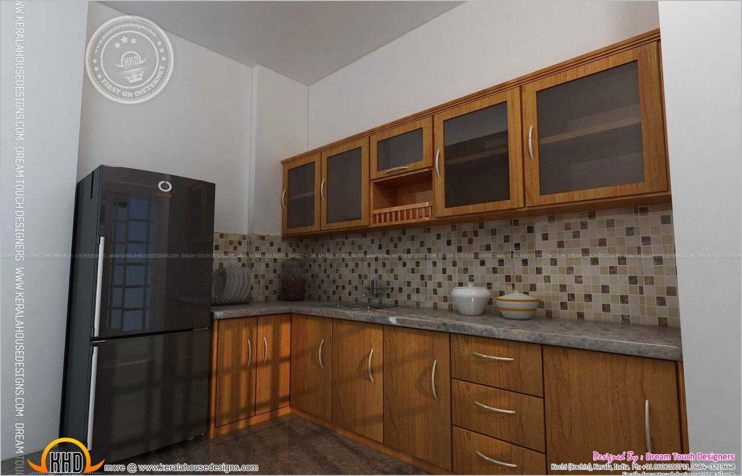 Kitchen design in kerala indian house 1489 955 for Simple kitchen designs for indian homes