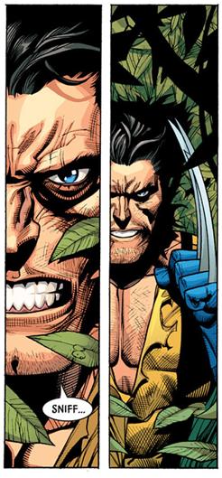 Un aparte de Secret Invasion de Wolverine en Savage Land