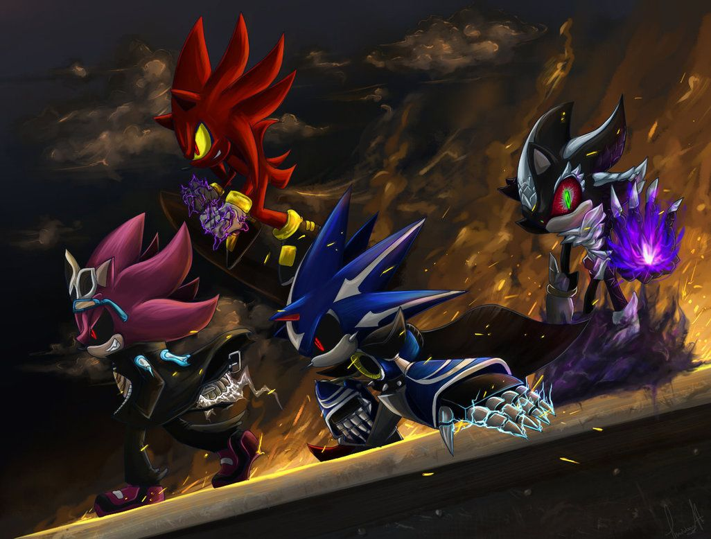 Villains 2 Sonic Art Hedgehog Art Sonic Fan Art