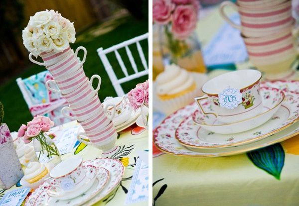 Marvelous Inspiration And Ideas For Pretty Table Settings. Tea Baby ShowersWonderland  PartyAlice ...