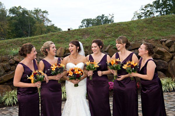 Tawne And Her Bridesmaids! Gorgeous Mori Lee Wedding Gown