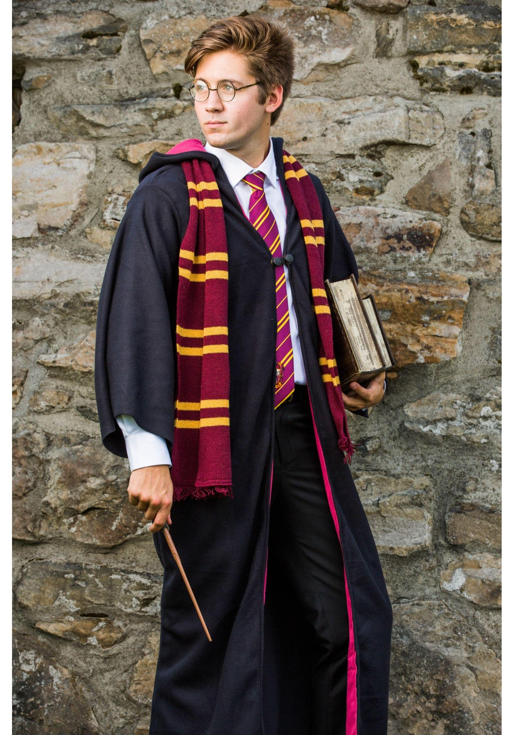 Good Harry Potter Uniform   Adult Deluxe Harry Potter Costume