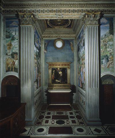 Capilla De Los Reyes Magos Catedral De Florencia Giorgio Vasari Italia