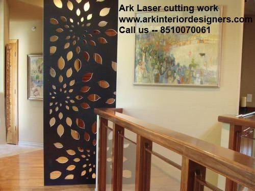 Ark interior is providing all types of laser cutting work for Interior jali designs