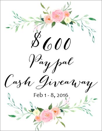 $600 Paypal cash GIVEAWAY | DIY Ideas | Giveaway, Tips, Bank