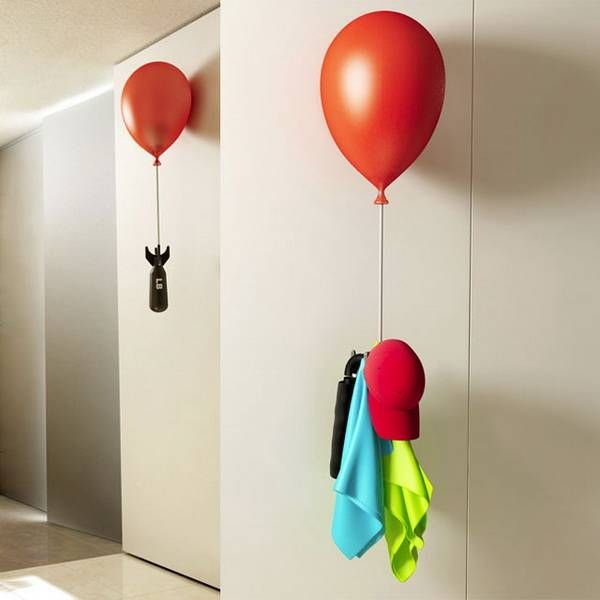 22 Unusual Wall Hooks And Clothes Hangers Offering Creative Wall