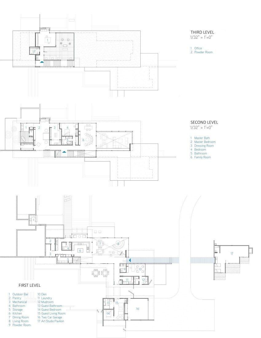 Vidalakis Residence by Swatt   Miers Architects (25)   Modern ...