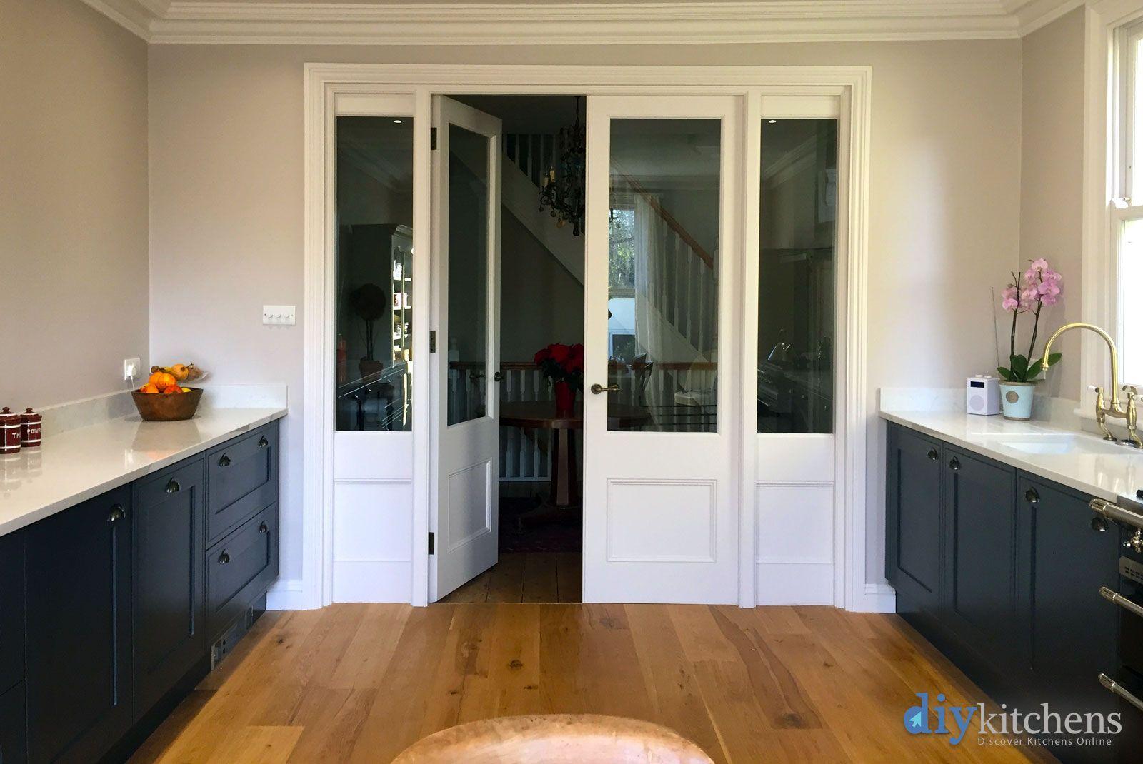 An Innova Welton Bespoke Painted Inframe Effect Kitchen