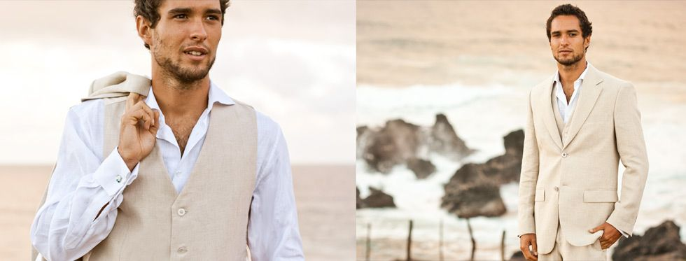 linen groom suits - Google Search | Dreams | Pinterest | Weddings