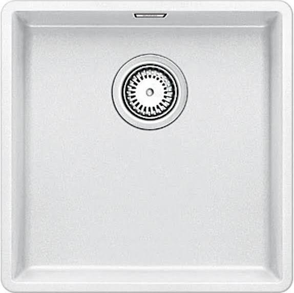 Blanco SUBLINE 400-F weiß Granit-Spüle bath Pinterest Bath - k chenarmaturen villeroy und boch