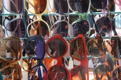 Vintage sun glasses in Little Viking, St Albans. Vintage retro store. Further photos on www.stateofadress... shades