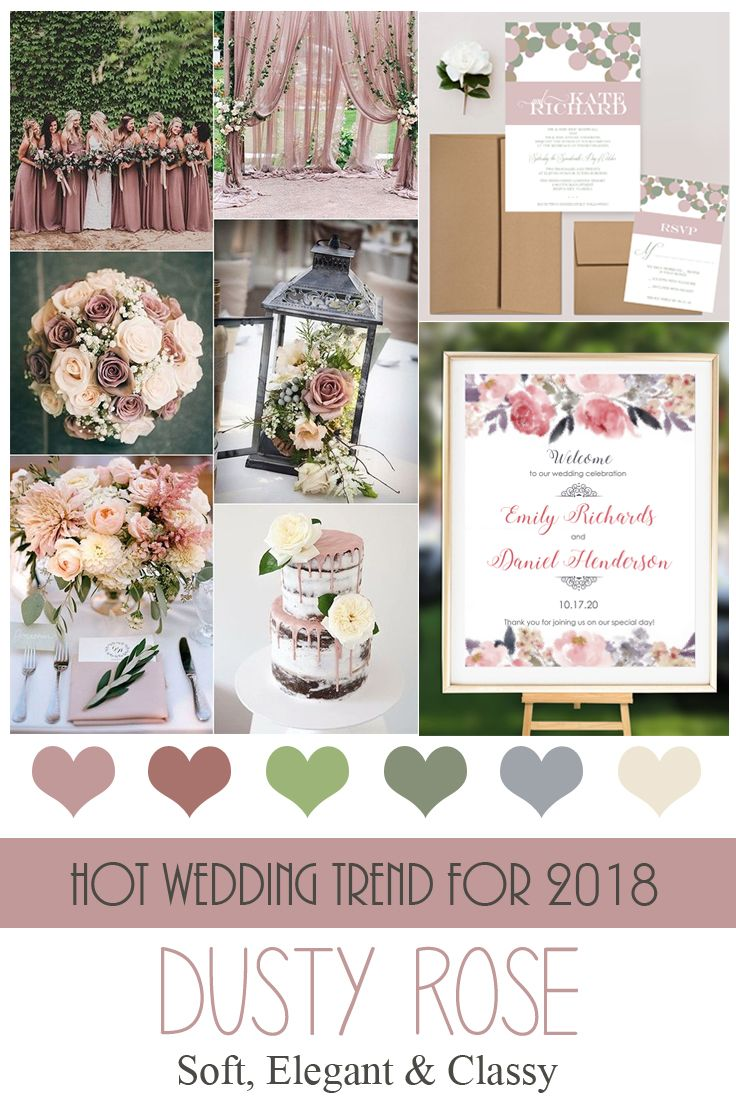 Summer Wedding Colors 2019 | deweddingjpg.com