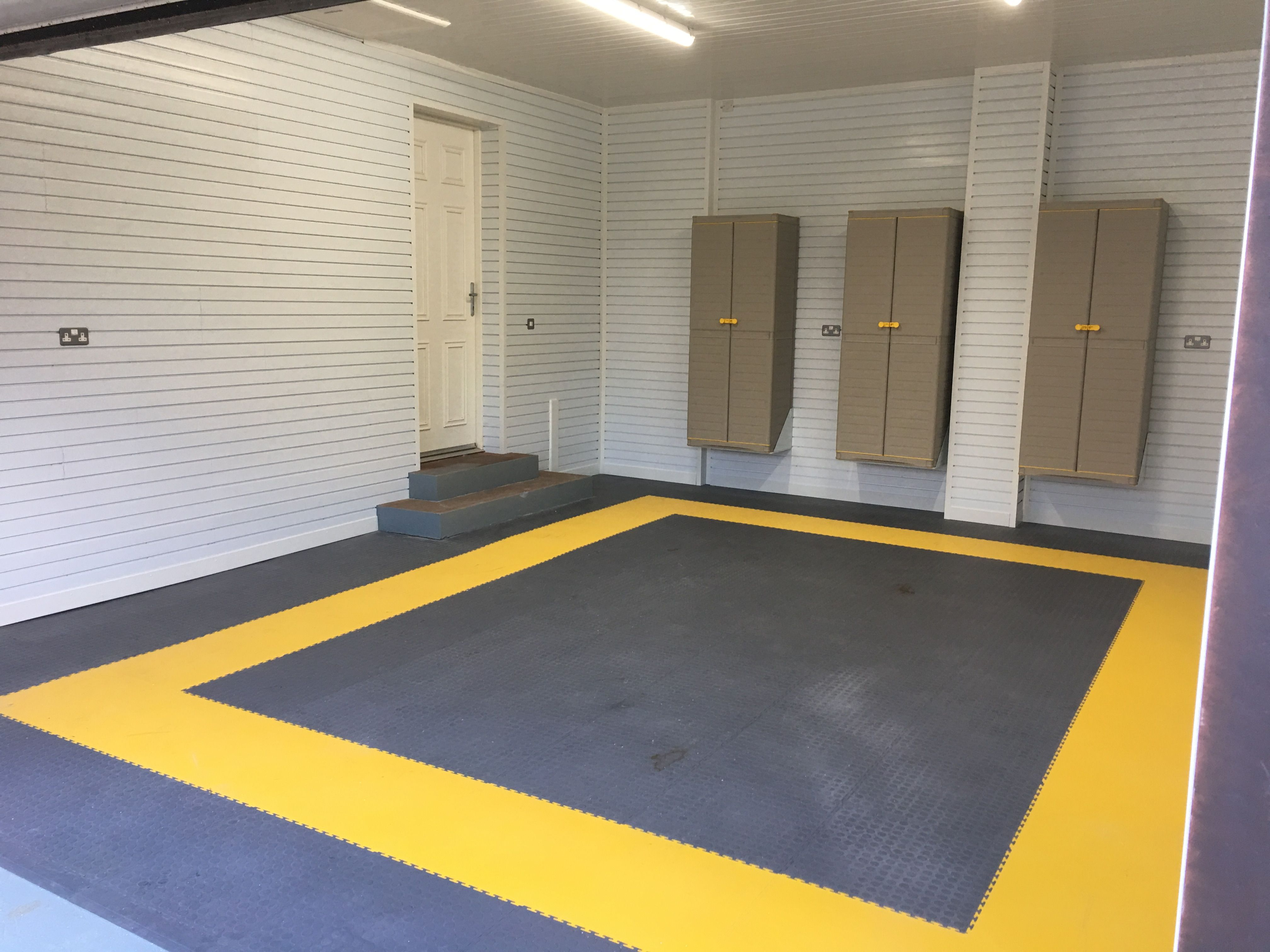 Dark grey floor tiles are very popular and can be combined with a dark grey floor tiles are very popular and can be combined with a yellow border to dailygadgetfo Images