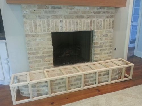 how to baby proof a fireplace hearth easy step by step diy baby rh pinterest com gas fireplace guard for babies