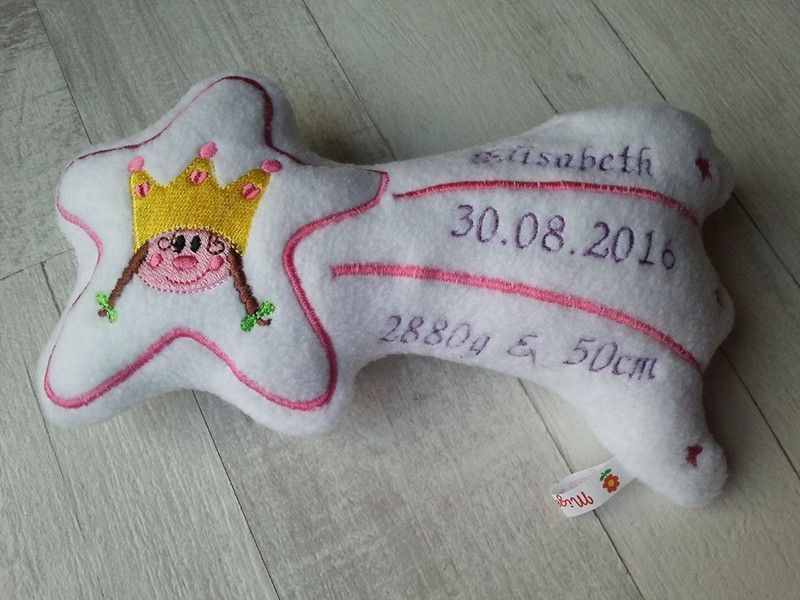 Weiteres - Sternschnuppe Prinz Lui & Prinzessin Paula - ein Designerstück von Migeliedesign bei DaWanda