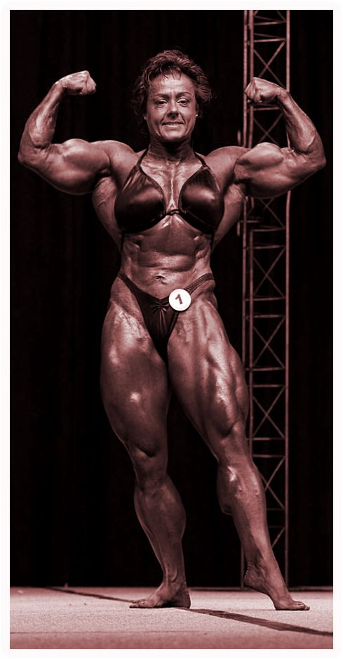 Think, female mature bodybuilders