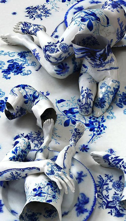 Fragile-Flow Blue : Joon Kim