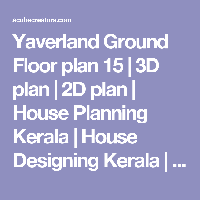 Yaverland Ground Floor Plan 15