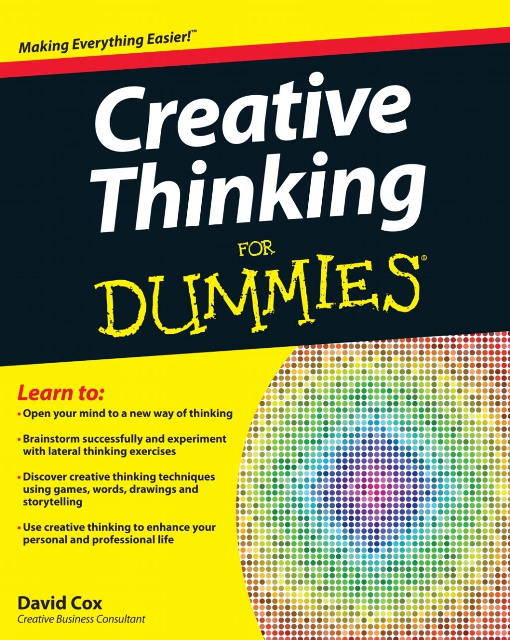 Creative Thinking For Dummies Ebook Dummies Book Creative Thinking Lateral Thinking