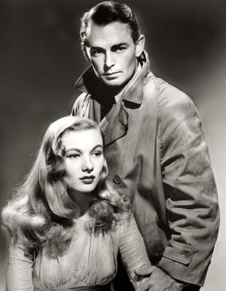 Alan Ladd And Veronica Lake Film Noir Couple Cinematografia Coppie Attrici