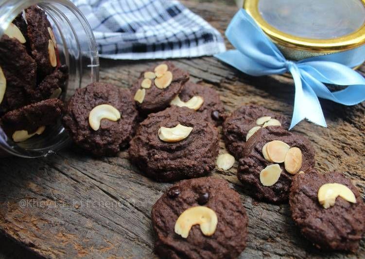 Resep Coklat Mede Cookies Super Crunchy Crispy Nyoklat Rekomend Kuelebaran Oleh Kheyla S Kitchen Resep Kue Kering Mentega Kukis Coklat Makanan