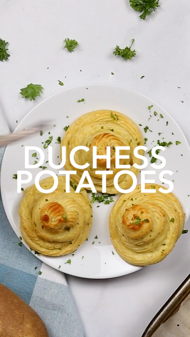 Duchess Potatoes -   25 thanksgiving recipes side dishes videos ideas