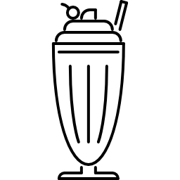 Milkshake Free Vector Icons Designed By Nikita Golubev In Icon Vector Icon Design Cafe Icon