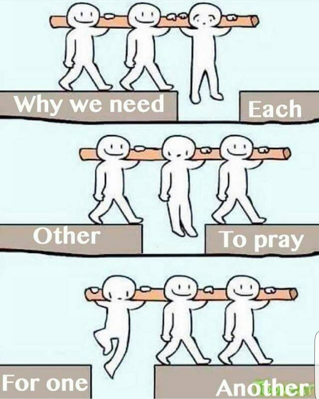Quotes About Uplifting One Another: Credit To @arise__and__shine We Need Each Other To Pray