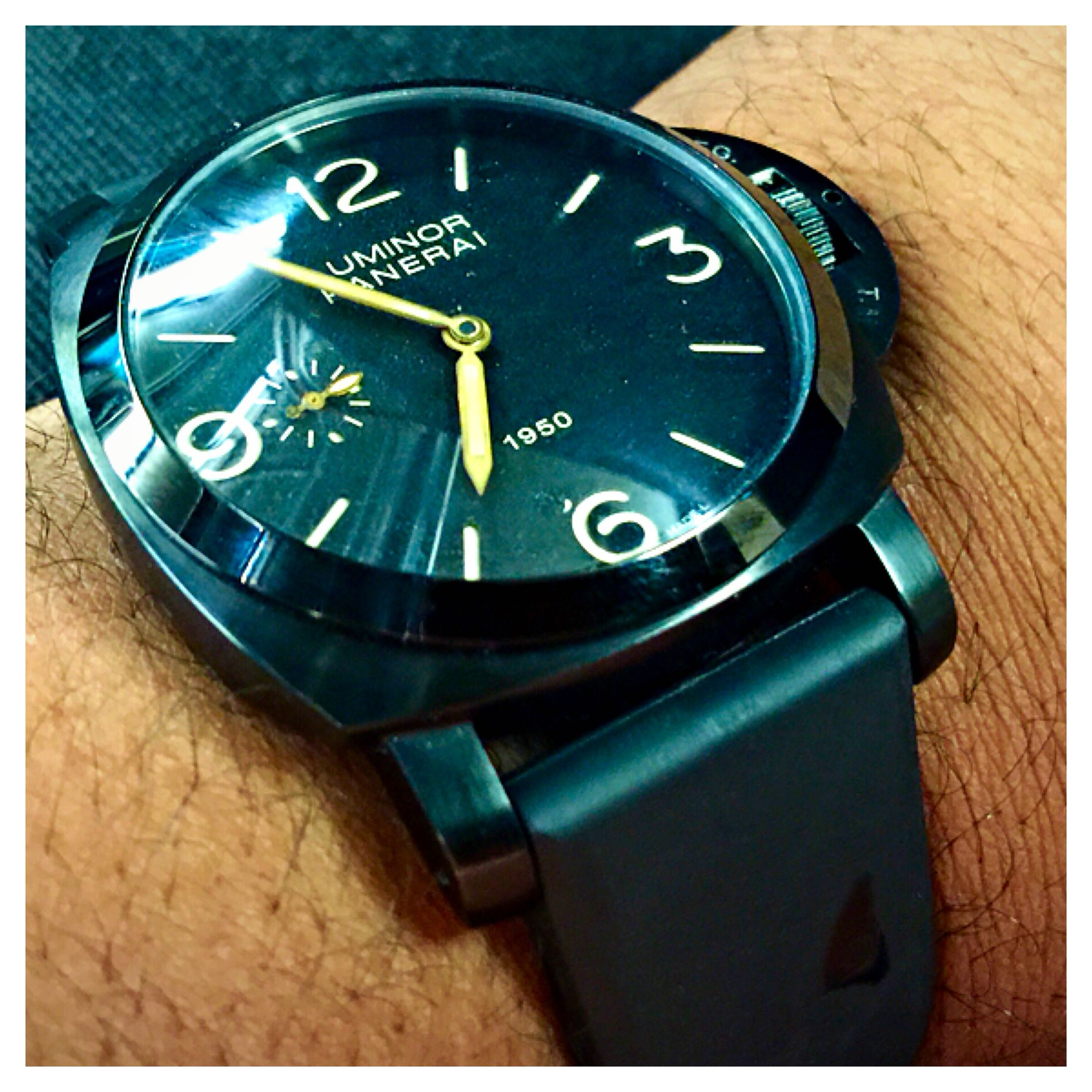 Pin by Ron Thompson on Vintage & Homage Panerai watches