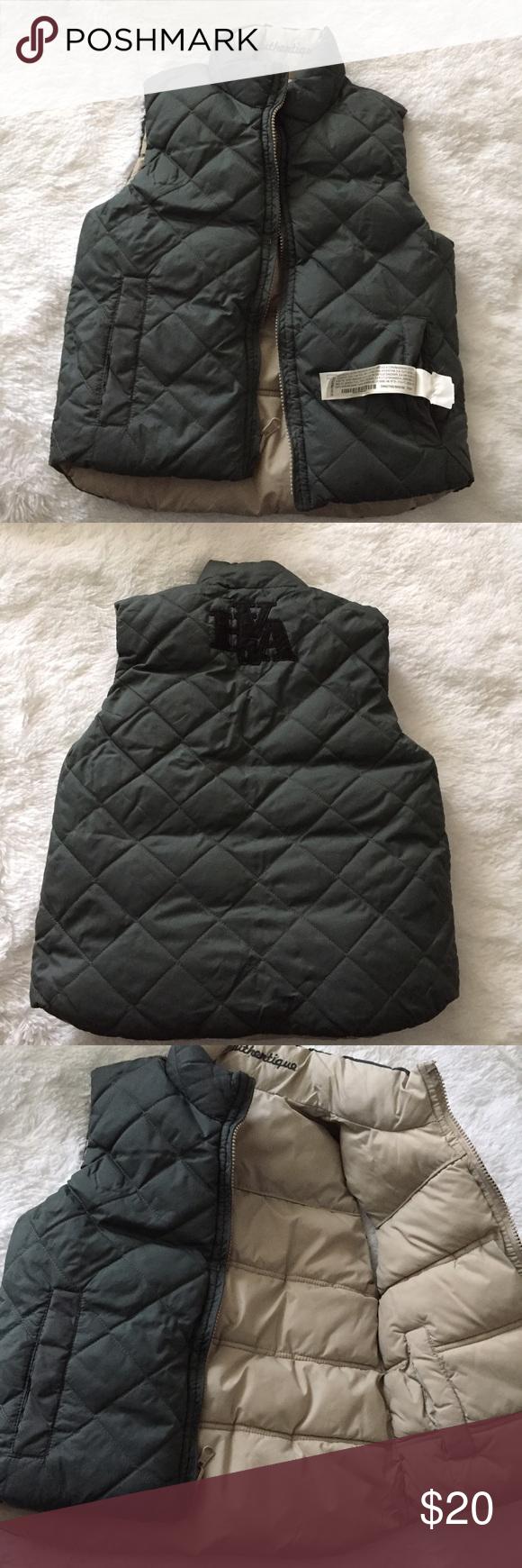 d471d86a5 ZARA kids vest XS (4-5) Reversible vest, never used, no flaws ...