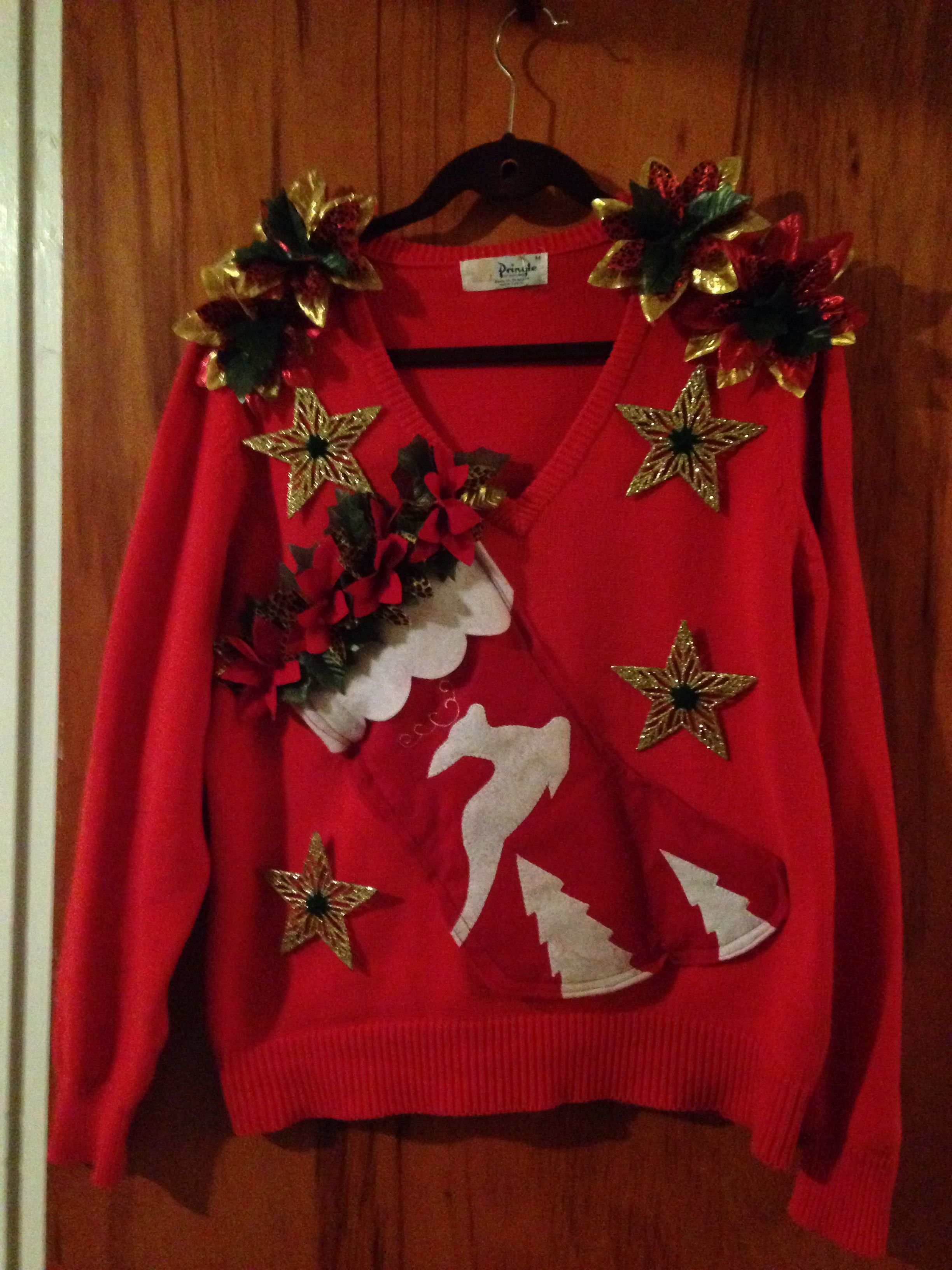 15 Do It Yourself Ugly Christmas Sweaters The Ugly Christmas Sweater Party has become a HUGE trend and fun way to celebrate the holiday season! We all loved our 80's Christmas sweaters {I owned my share} feeling very stylish back then haha!