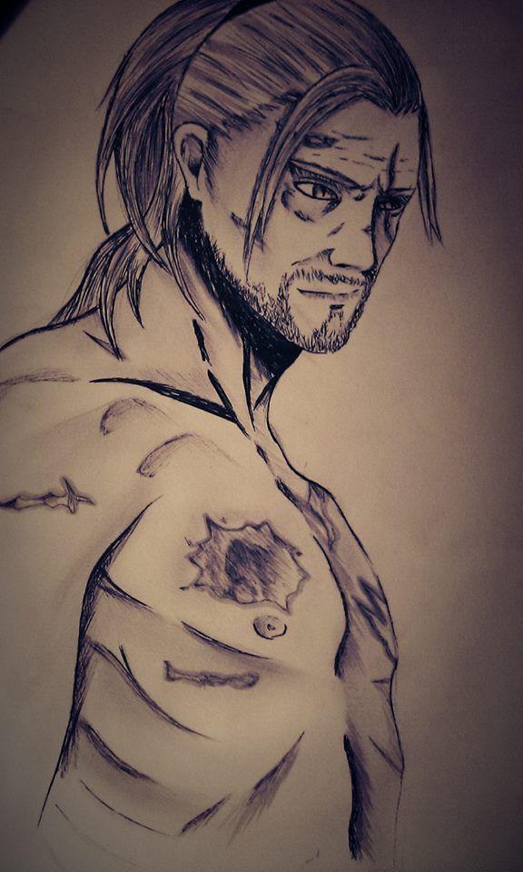 Geralt z Rivii :D  By Nestar