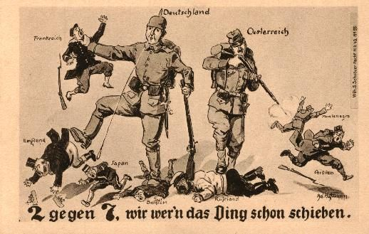 world war 1 german propaganda - Google Search | Enemy Fire ...