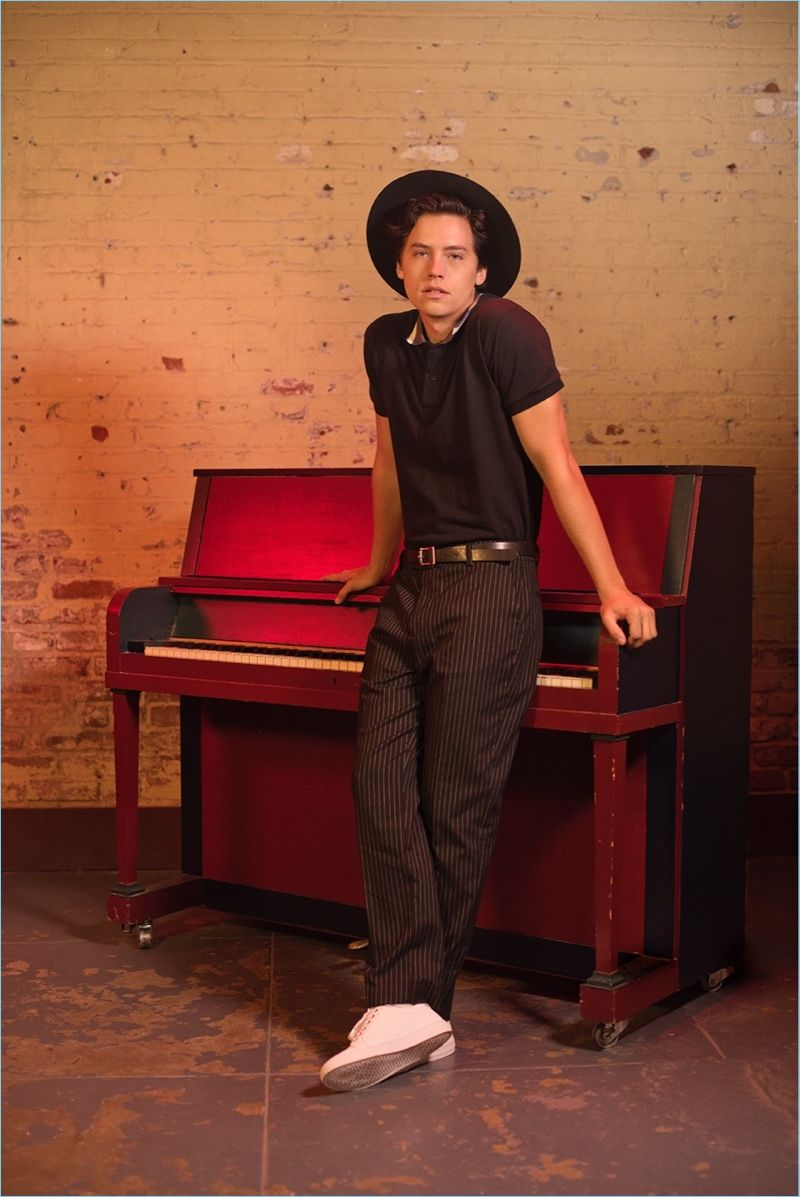 Cole Sprouse Fronts New Bench Campaign Dylan, cole, Cole