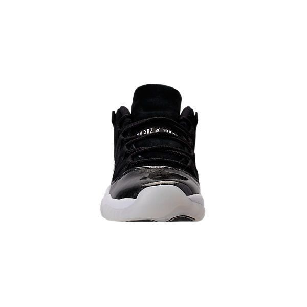 reputable site 8276e d4c70 ... Boys Grade School Air Jordan Retro 11 Low Basketball Shoes Finish.