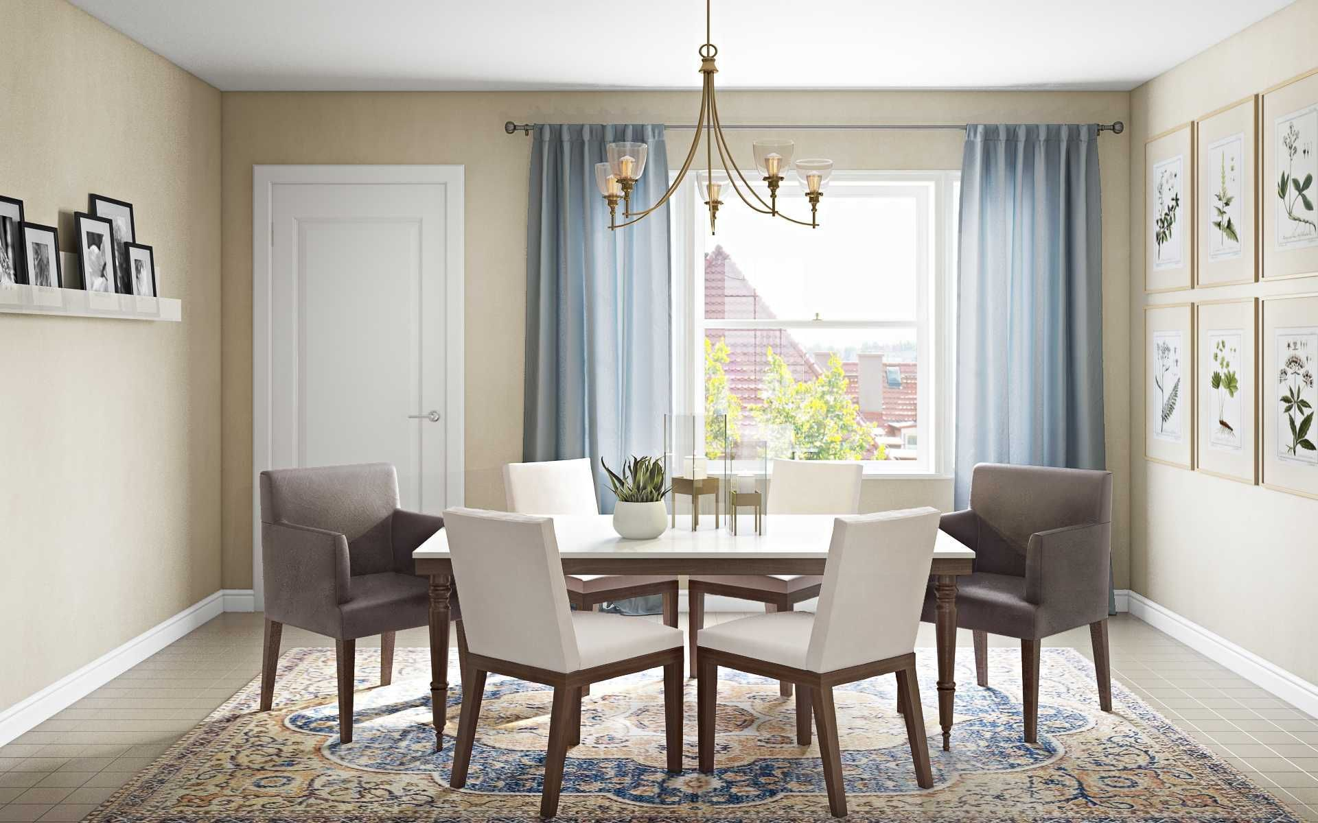 Classic Traditional Dining Room Design By Havenly Interior Designer Fendy Dining Room Design Interior Design Traditional Dining Room
