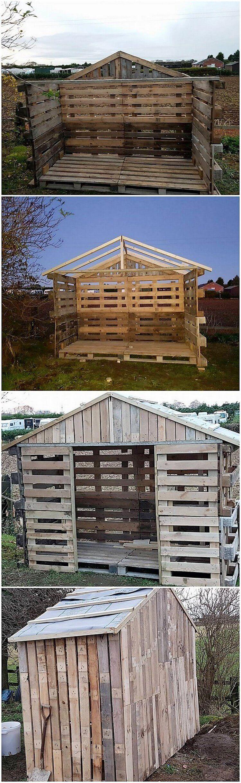 Heart Touching Fresh Wood Pallets Reusing Ideas | Wood ...