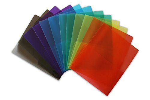 BEST PRICE on Colorful Plastic Folders for Teachers. #STEMSFX