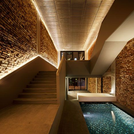 Old Singapore Shophouse Transformed into a Cozy Modern Home ... on pool electrical ideas, pool stairs ideas, pool shelter ideas, pool maintenance ideas, pool remodeling ideas, pool house ideas, pool art ideas, pool building ideas, pool fire ideas, pool walls ideas, pool tables ideas, pool outdoor ideas, pool tile ideas, pool color ideas, pool safety ideas, swimming pool decorating ideas, pool tiling ideas, pool lights, pool area decorating ideas, pool shading ideas,