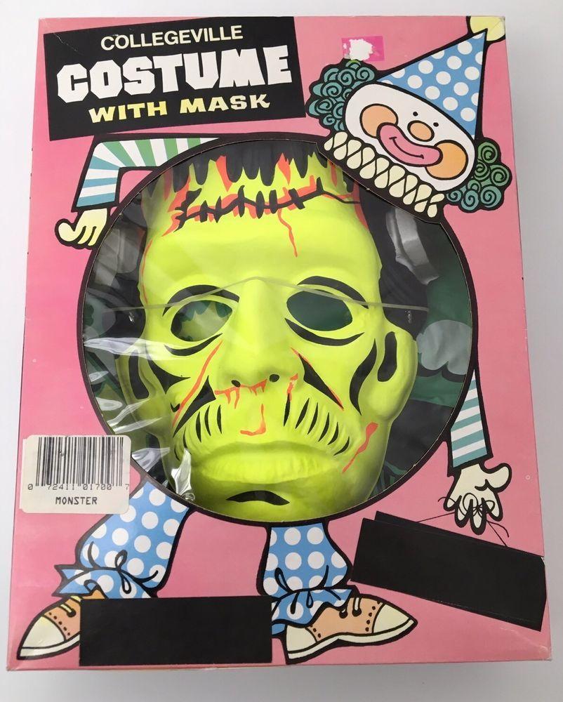 Vintage 90's Frankenstein Collegeville Halloween Costume