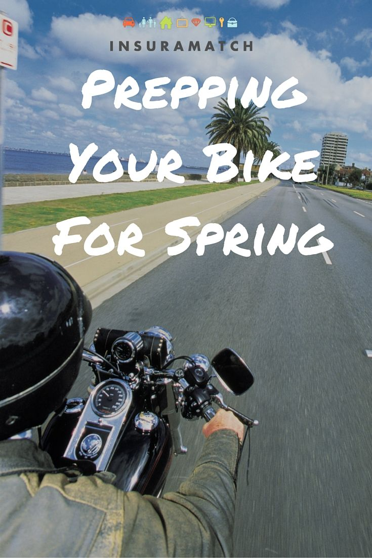 Motorcycle Insurance And Preparing Your Bike For Riding Season
