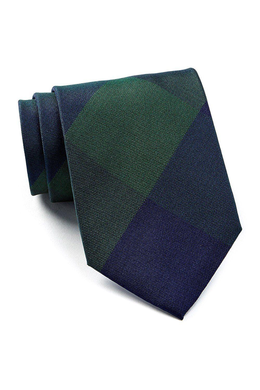 bb2c091ad37dd Tommy Hilfiger Men's Buffalo Plaid Silk Tie, OS (Hunter) at Amazon Men's  Clothing store: