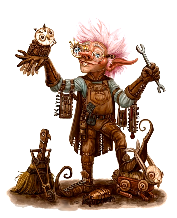 Male Gnome Alchemist Toymaker Tinkerer Pathfinder Pfrpg Dnd D D 3 5 5th Ed D20 Fantasy Fantasy Character Design Character Art Dungeons And Dragons Characters