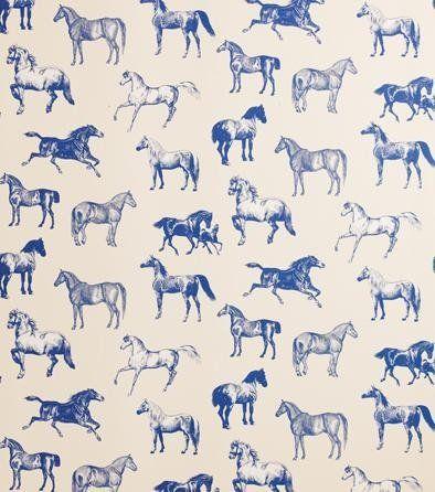 Collette Wallpaper Black Sandberg Horse Wallpaper Pattern Art Horse Pattern